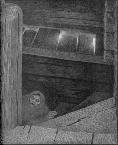 Kittelsen. Pesta i trappen.