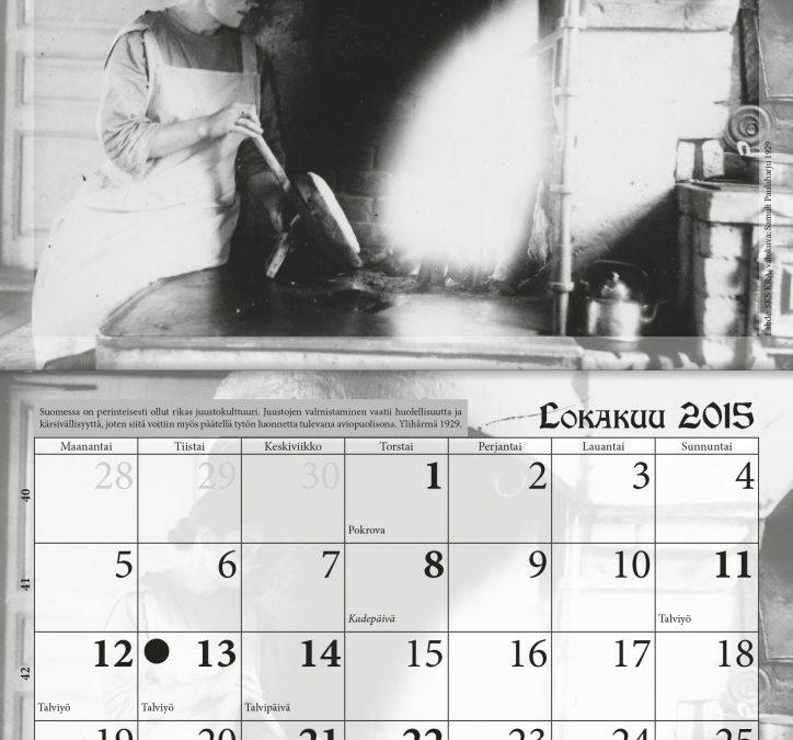 Uusi kalenteri julkaistuna – kuvituksena Samuli Paulaharjun valokuvia