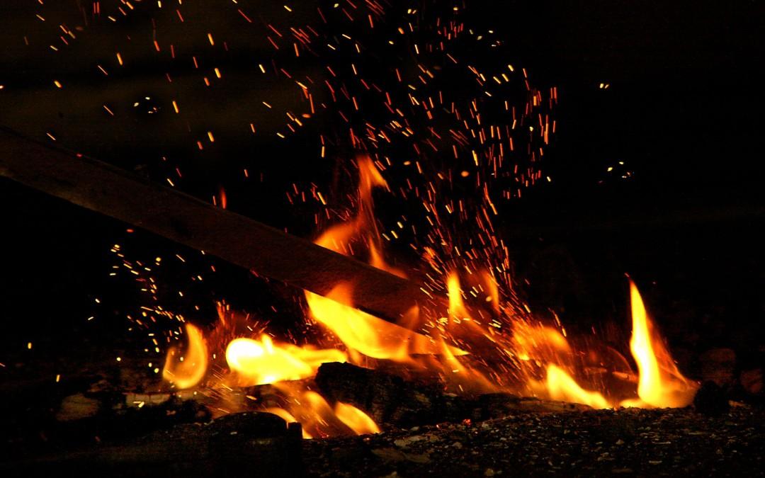 Rauta pakeni tulta suolle