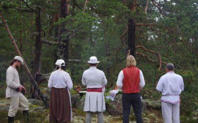 Yhteispalveluksessa kunnioitettiin omauskoisia perinteitä