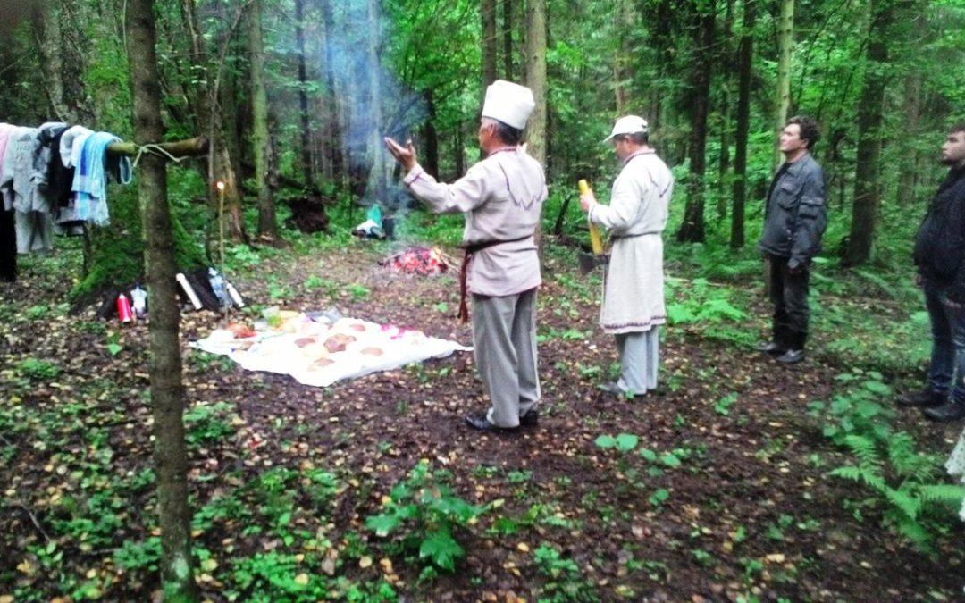 Marien syyspalvelus järjestettiin Kindjakovan vuorella