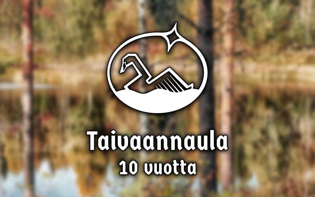 Taivaannaulan 10-vuotisjuhla Tampereella