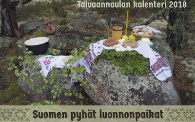 Tilaa Suomen pyhät luonnonpaikat 2017-2018 -kalenteri
