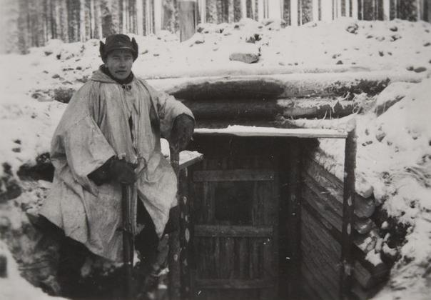 Sauna sodassa