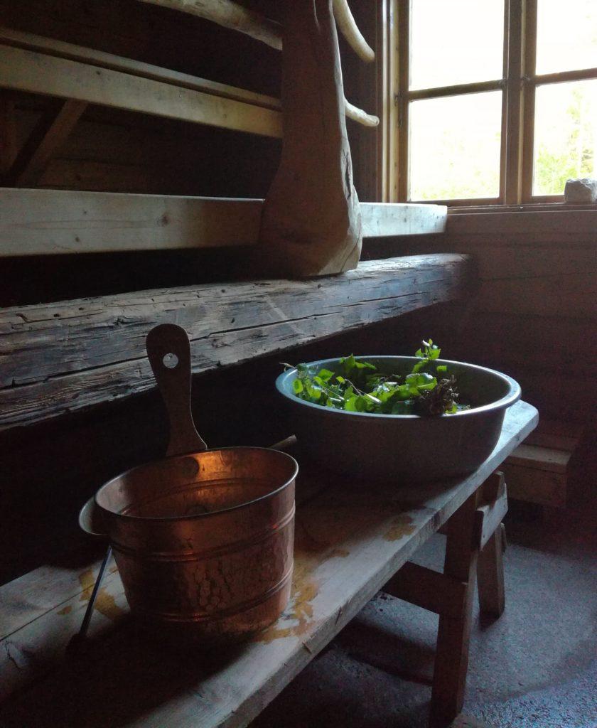 Tuomarlan sauna. Kuva: Maija L.