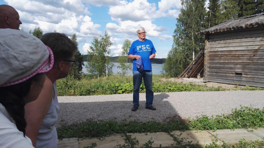 Leirillä kuultiin myös Kansainvälisen Saunayhdistyksen Risto Elomaan ajatuksia saunakulttuurista.