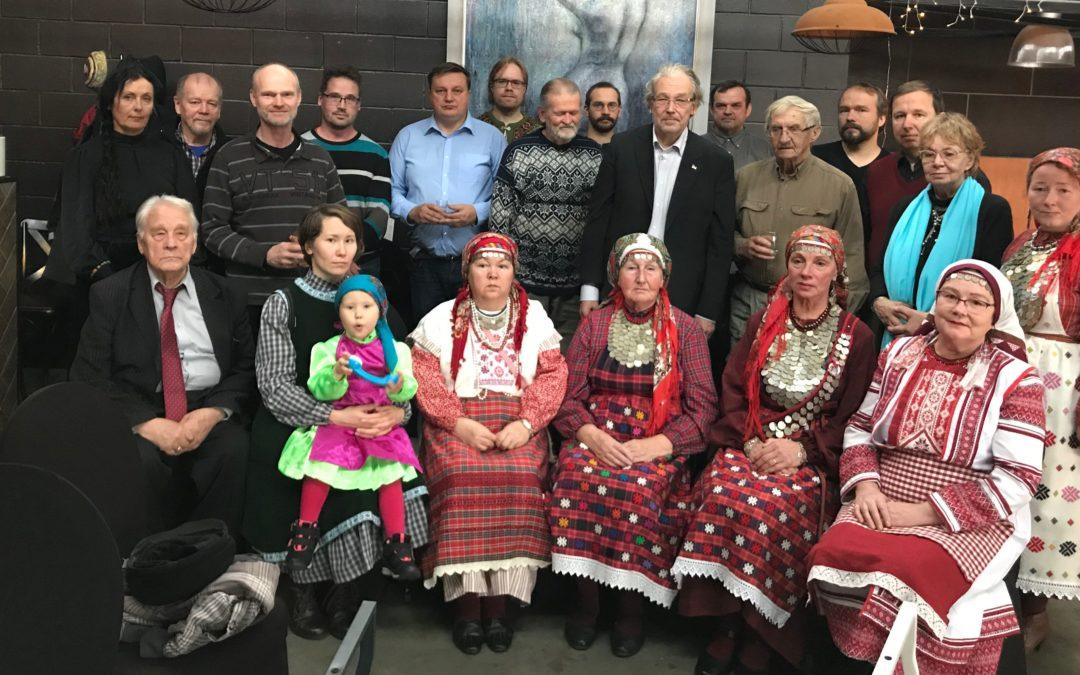 Albert Razinin muistajaisissa Tallinnassa
